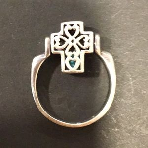 Premier Design reversible turquoise ring